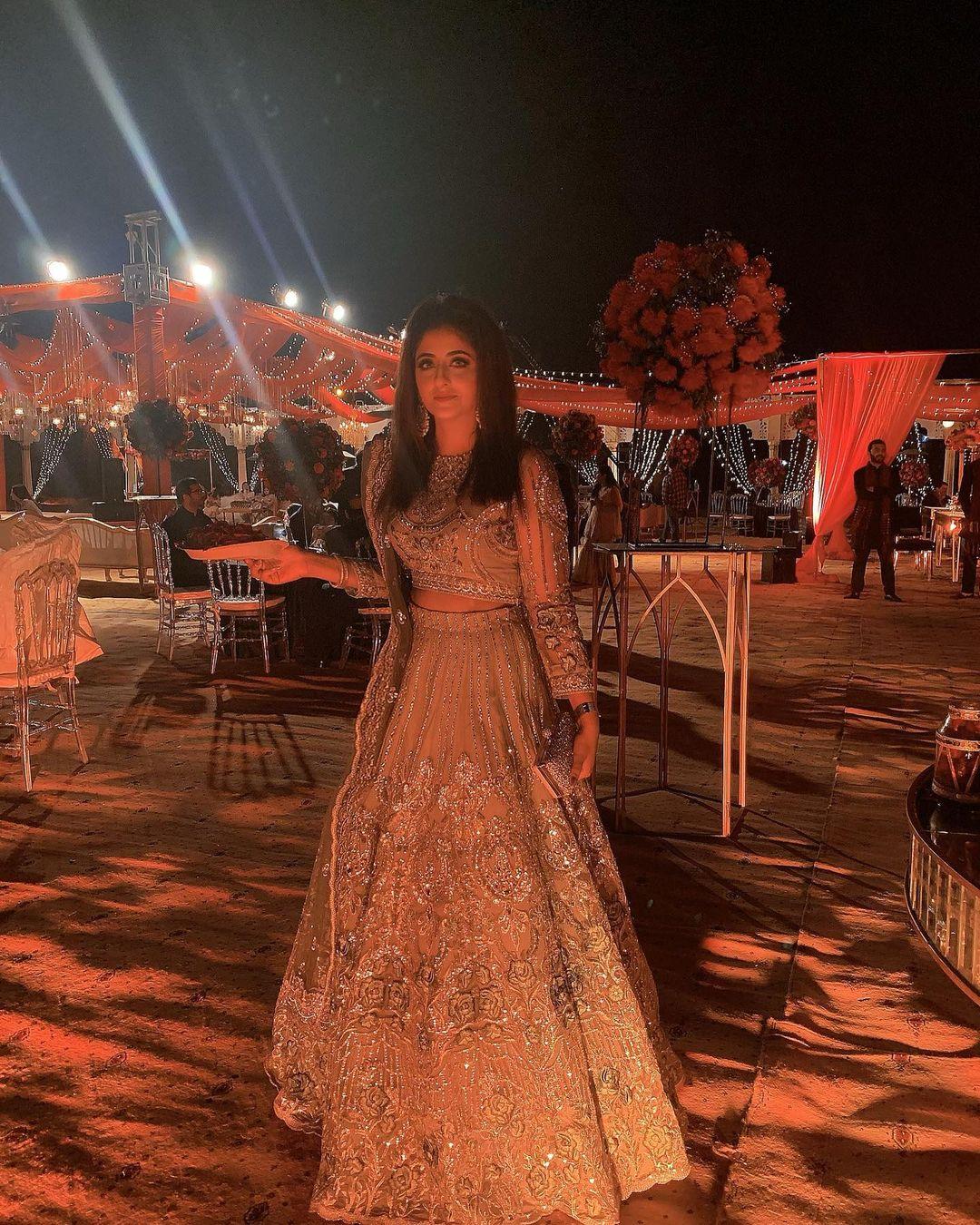 Fatima Sohail Latest Clicks from Her Best Friends Wedding