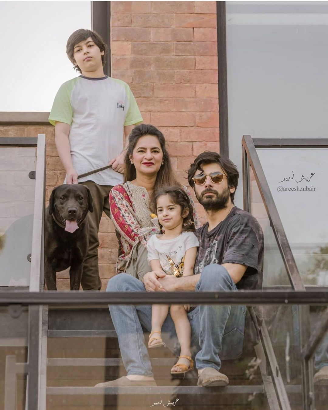 Fawad Khan Latest Photos with his Family