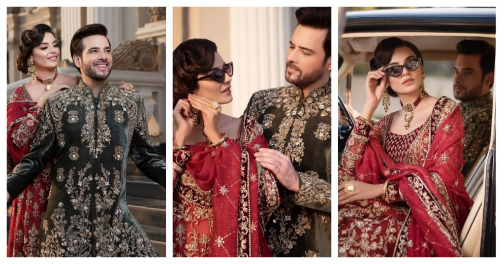 Latest Photoshoot of Meekal Zulfiqar and Sadia Ghaffar