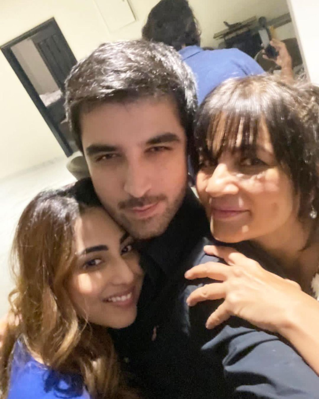 Frieha Altaf Latest Clicks with Celebrities in a Party