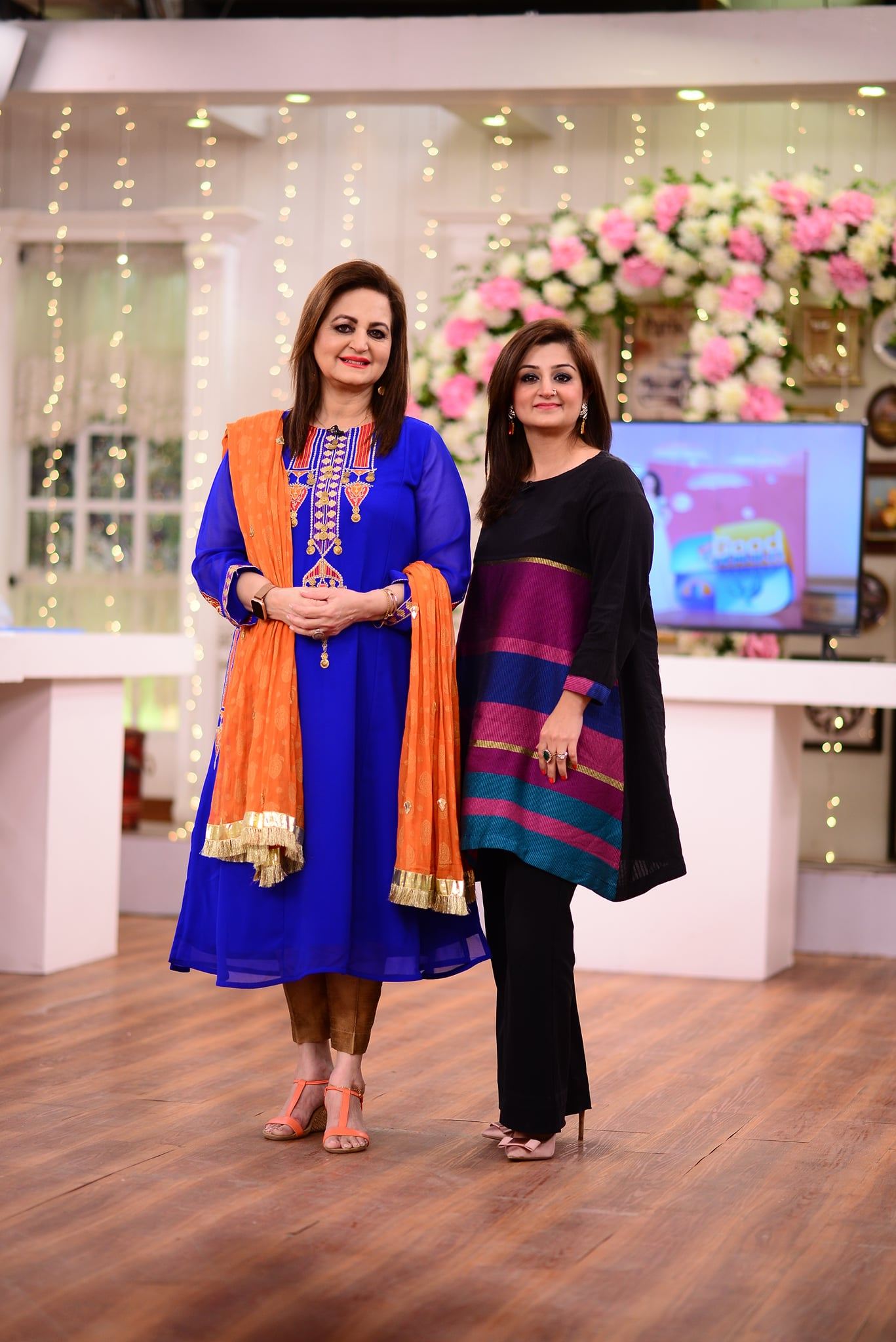 Laila Zuberi and Parveen Akbar Daughters in GMP