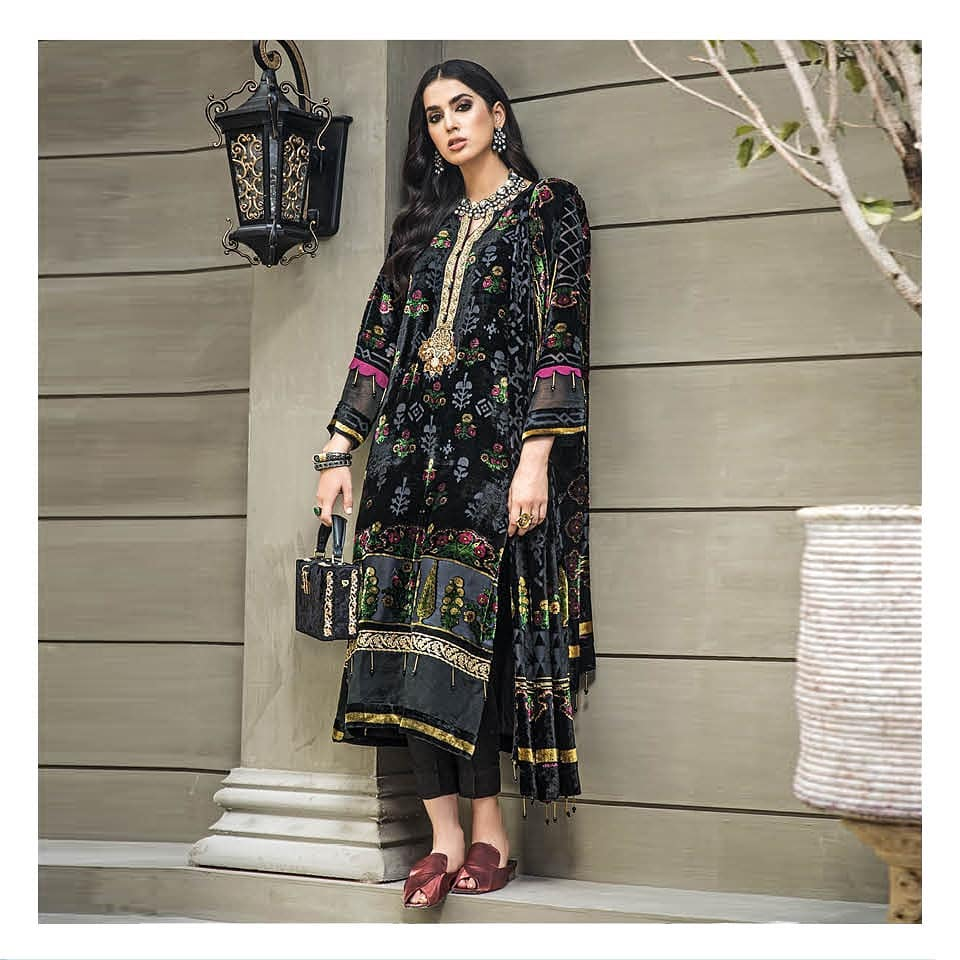 Gul Ahmed Winter Collection 2020 - Pictures And Prices