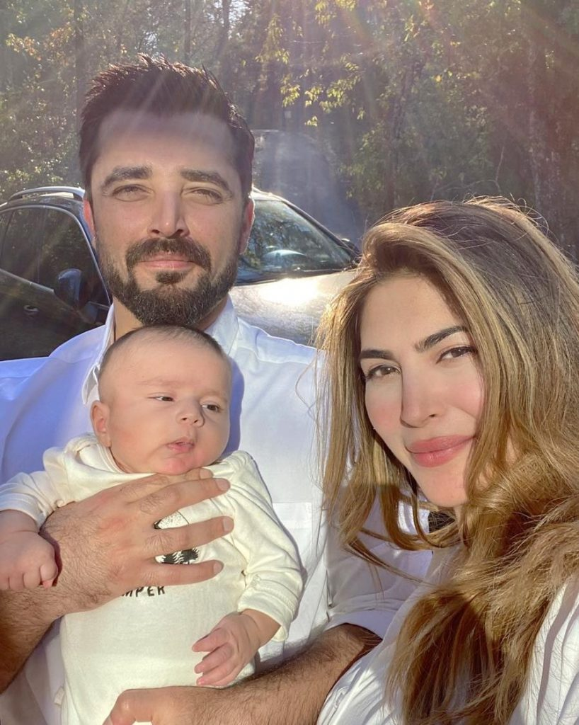 Hamza Ali Abbasi Wished Birthday To His Wife In Sweetest Way
