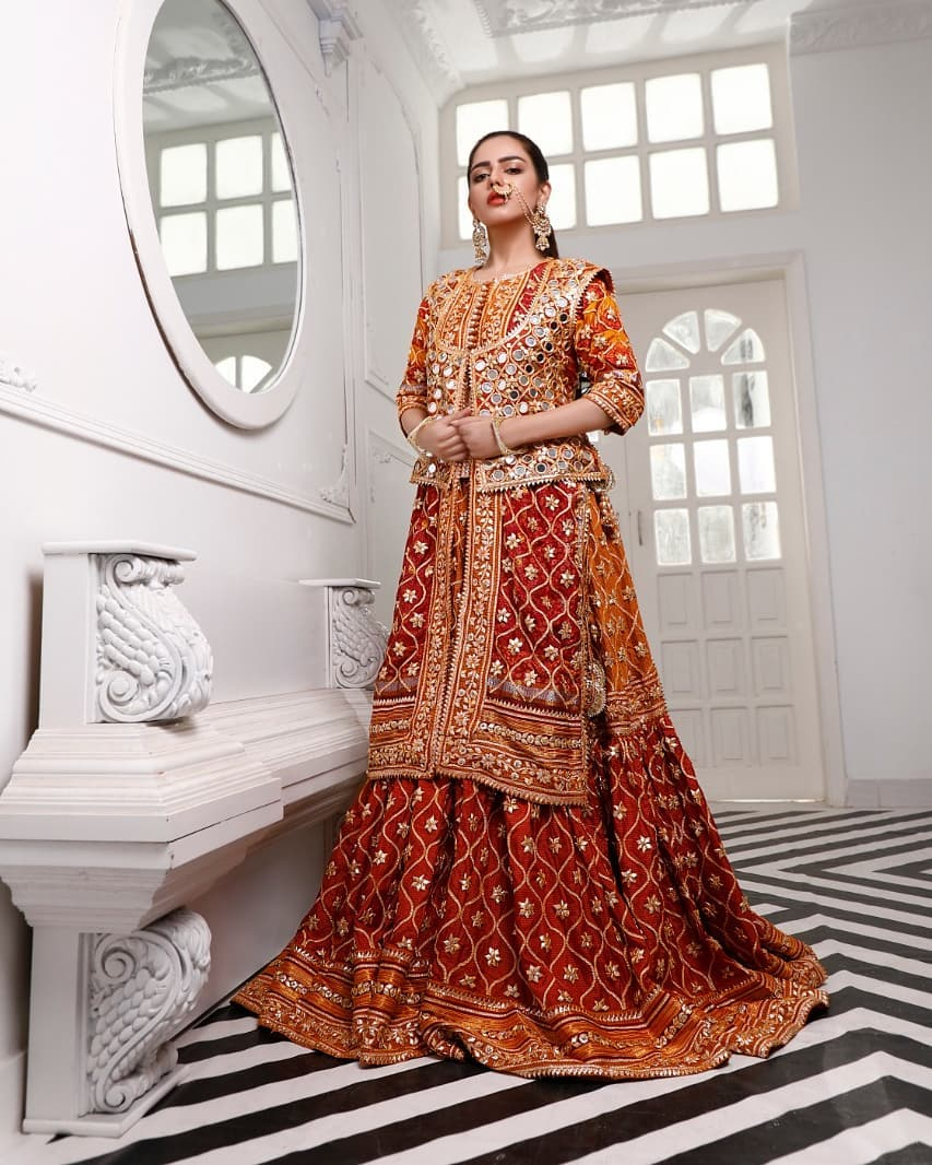 Actress Hina Ashfaq Latest Bridal Photoshoot