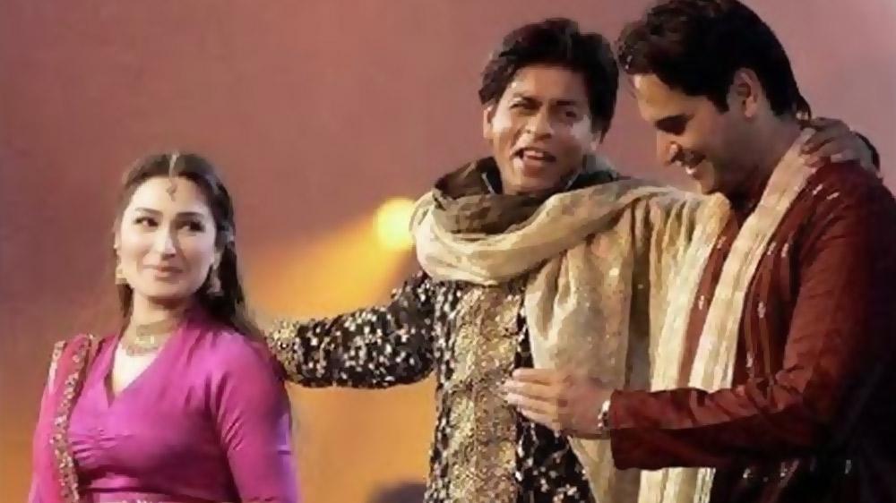 Humayun Saeed, Reema Khan's Video Dancing With SRK And Prity Zinta