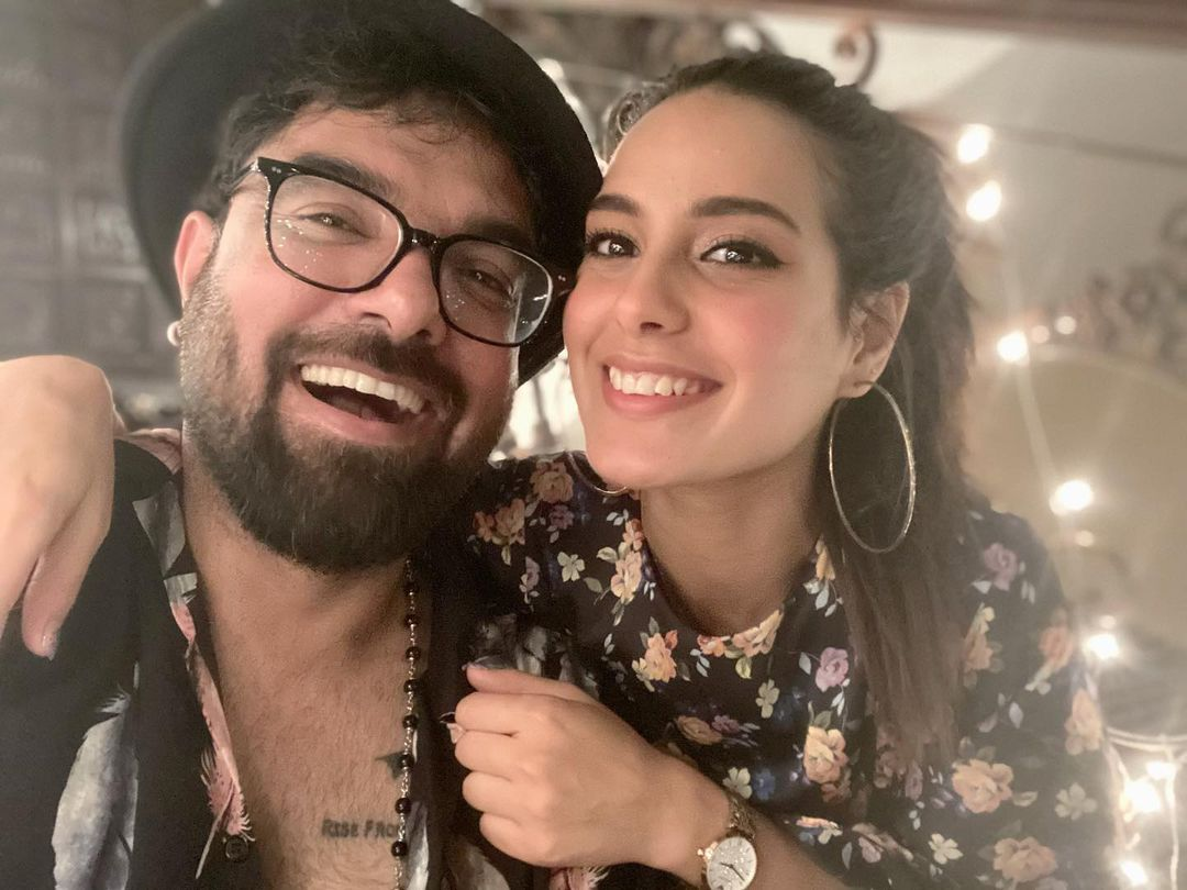 Iqra Aziz and Yasir Hussain Clicks from Birthday Dinner Date