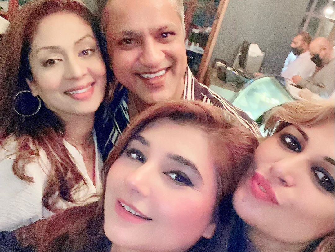 Javeria Saud Spotted at the Birthday Party of her Friend
