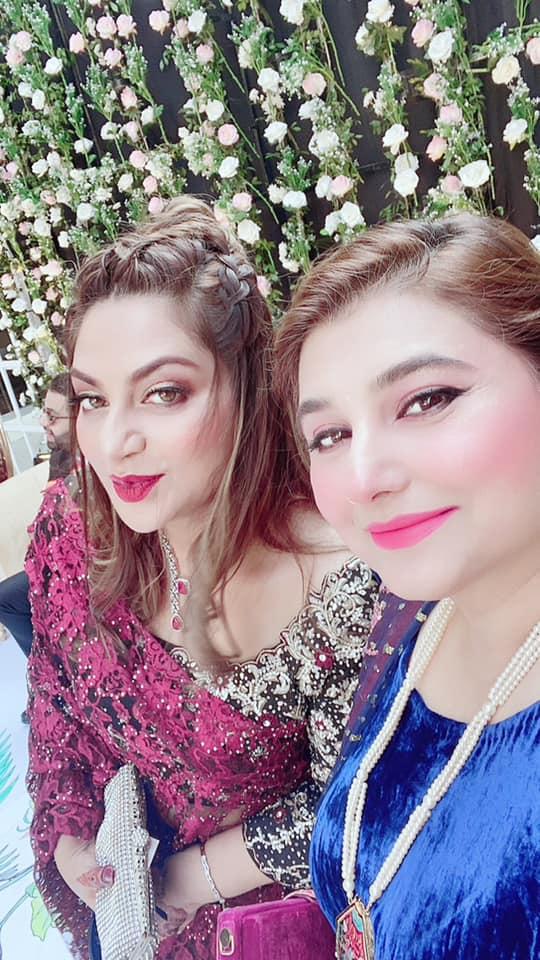 Javeria Saud at a Recent Wedding Event - Beautiful Pictures