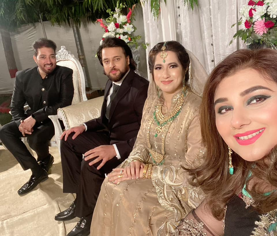 Javeria Saud Pictures from a Recent Wedding