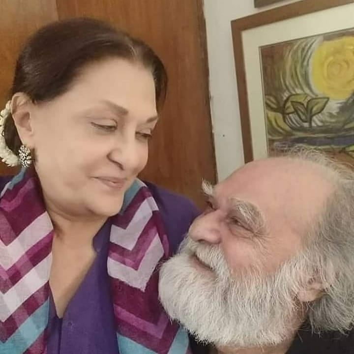 Beautiful Couple Manzar Sehbai And Samina Ahmed - Latest Pictures