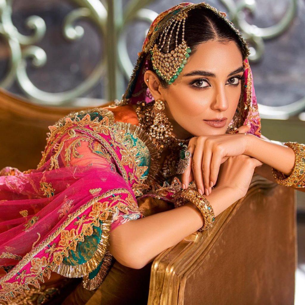 Maya Ali Looks Flawless In Noor Festive Collection