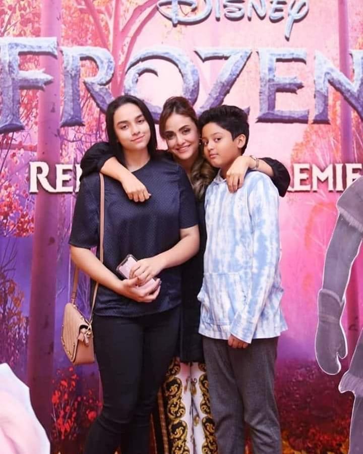 Nadia Khan Interviews Her Daughter