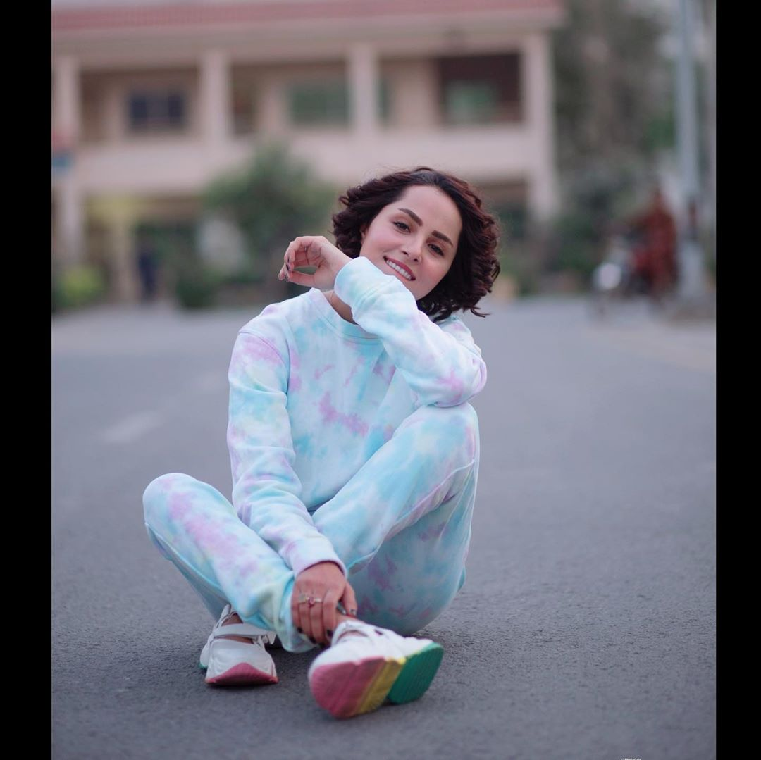 Nimra Khan in Colorful Western Clothes - Beautiful Pictures