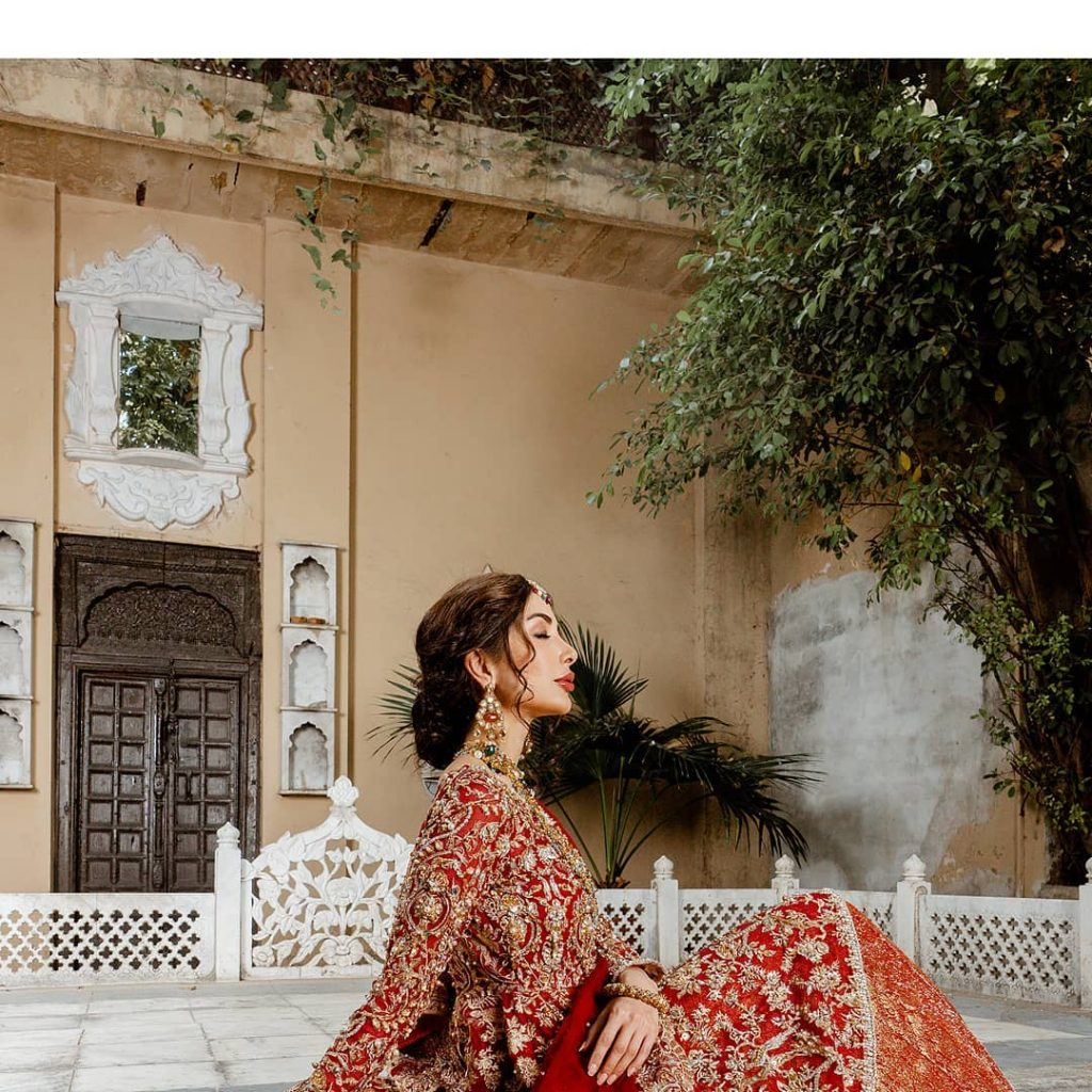 Sabeeka Imam Winning Hearts In Bridal Dresses By Kanwal Malik