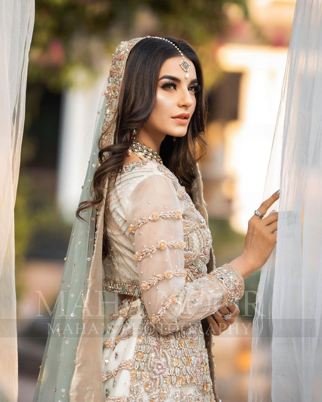 Sadia Khan is Looking Stunning in her Latest Bridal Makeup Shoot