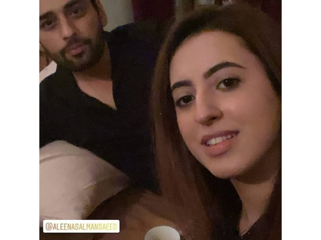 Salman Saeed with his Wife Aleena - Latest Pictures