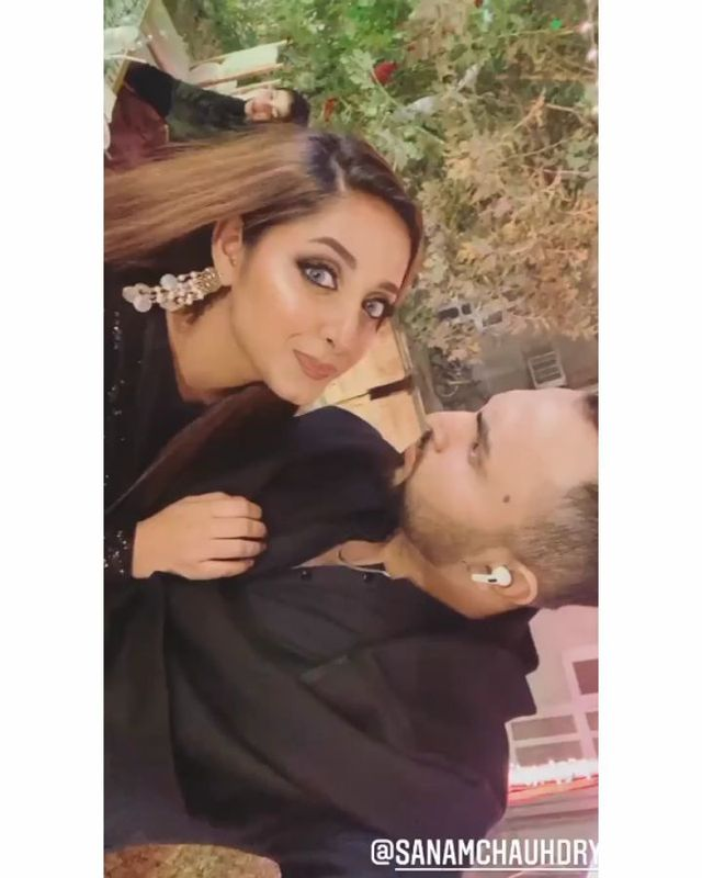 Sanam Chaudhry with her Husband Somee Chohan - Latest Pictures