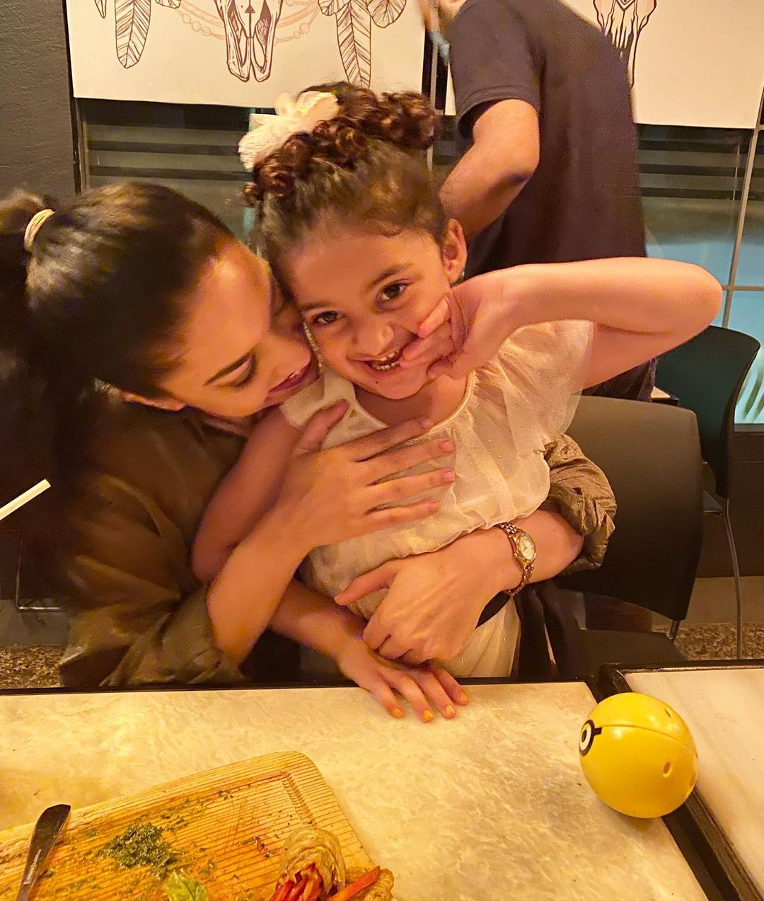 Sanam Jung Daughter 4th Birthday - Cute Pictures