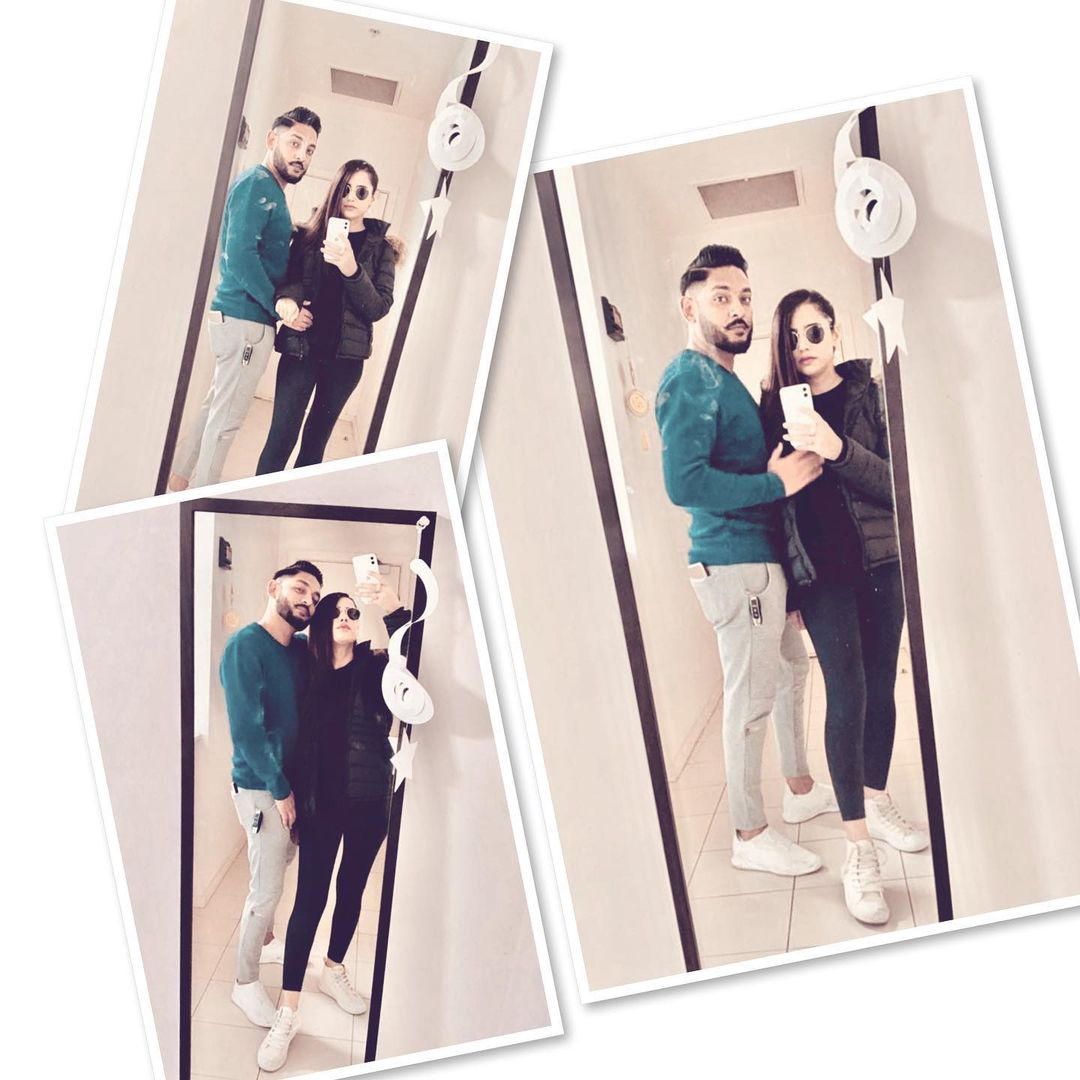 Saniya Shamshad with her Husband - Latest Clicks