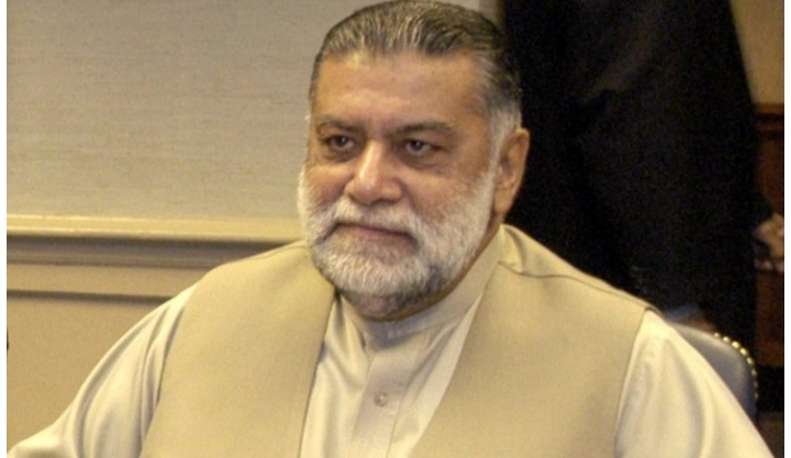 Mir Zafarullah Khan Jamali admitted to hospital