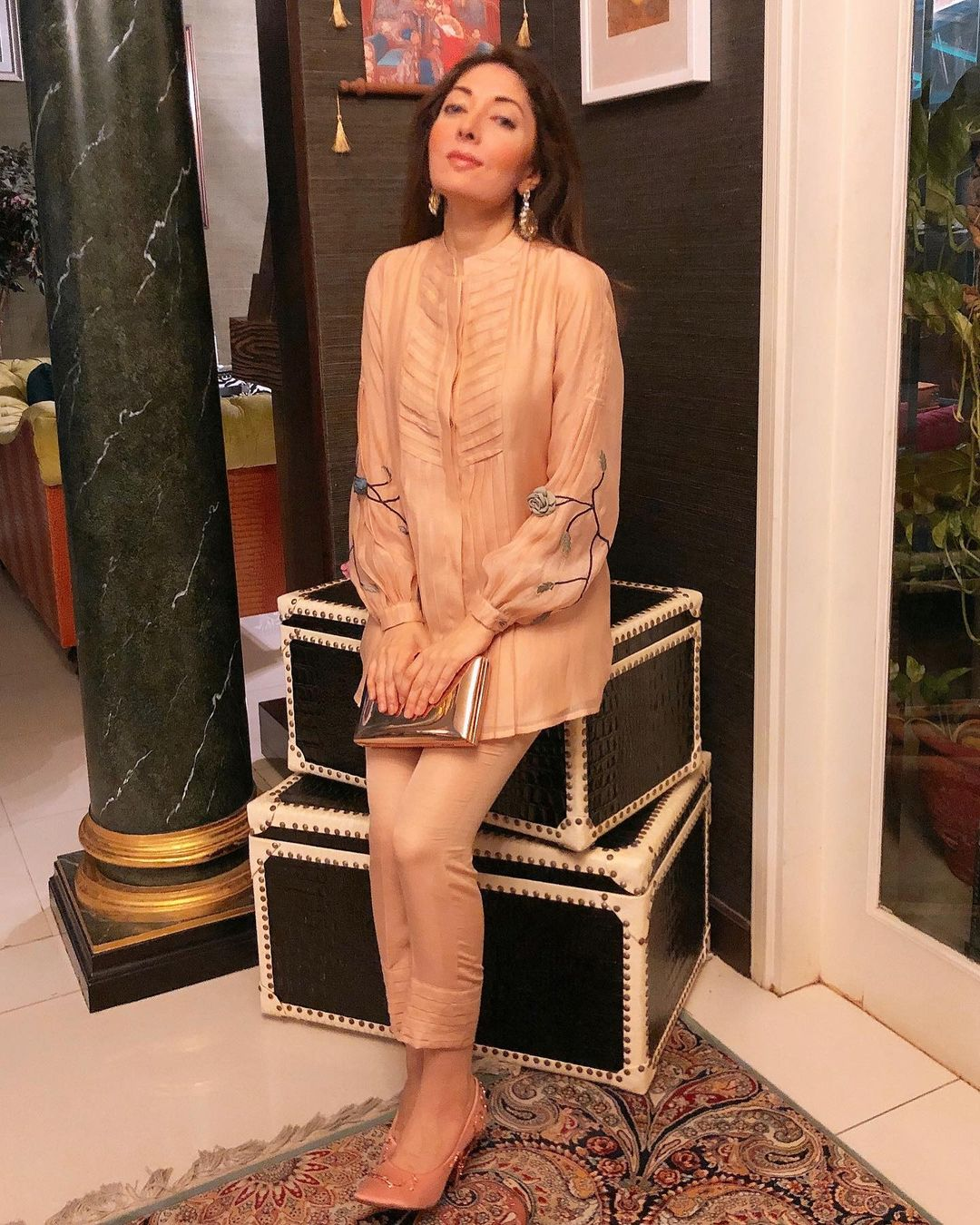 Sharmila Farooqi Halloween 2020 Makeover Pictures