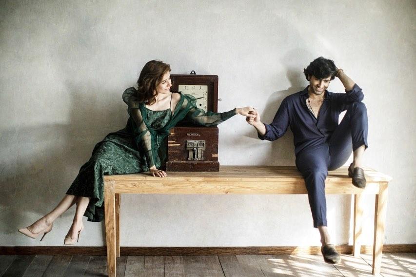 Sheheryar Munawar and Syra Yousuf Latest Photoshoot for OK Pakistan