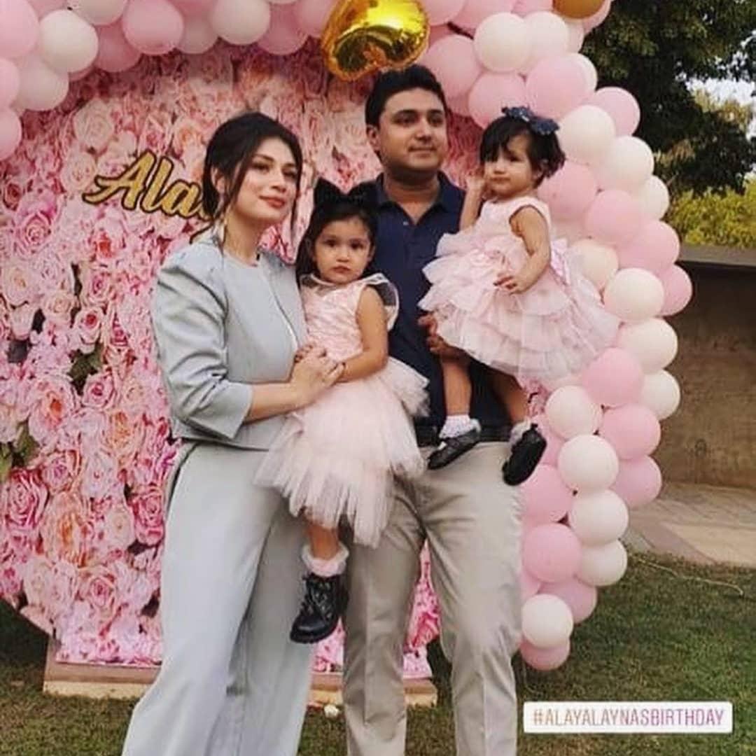 Actress Sidra Batool Daughters Birthday - Beautiful Pictures