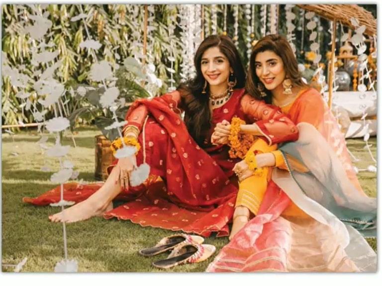 Urwa Hocane and Mawra Hocane Shoot for their Brand UXM
