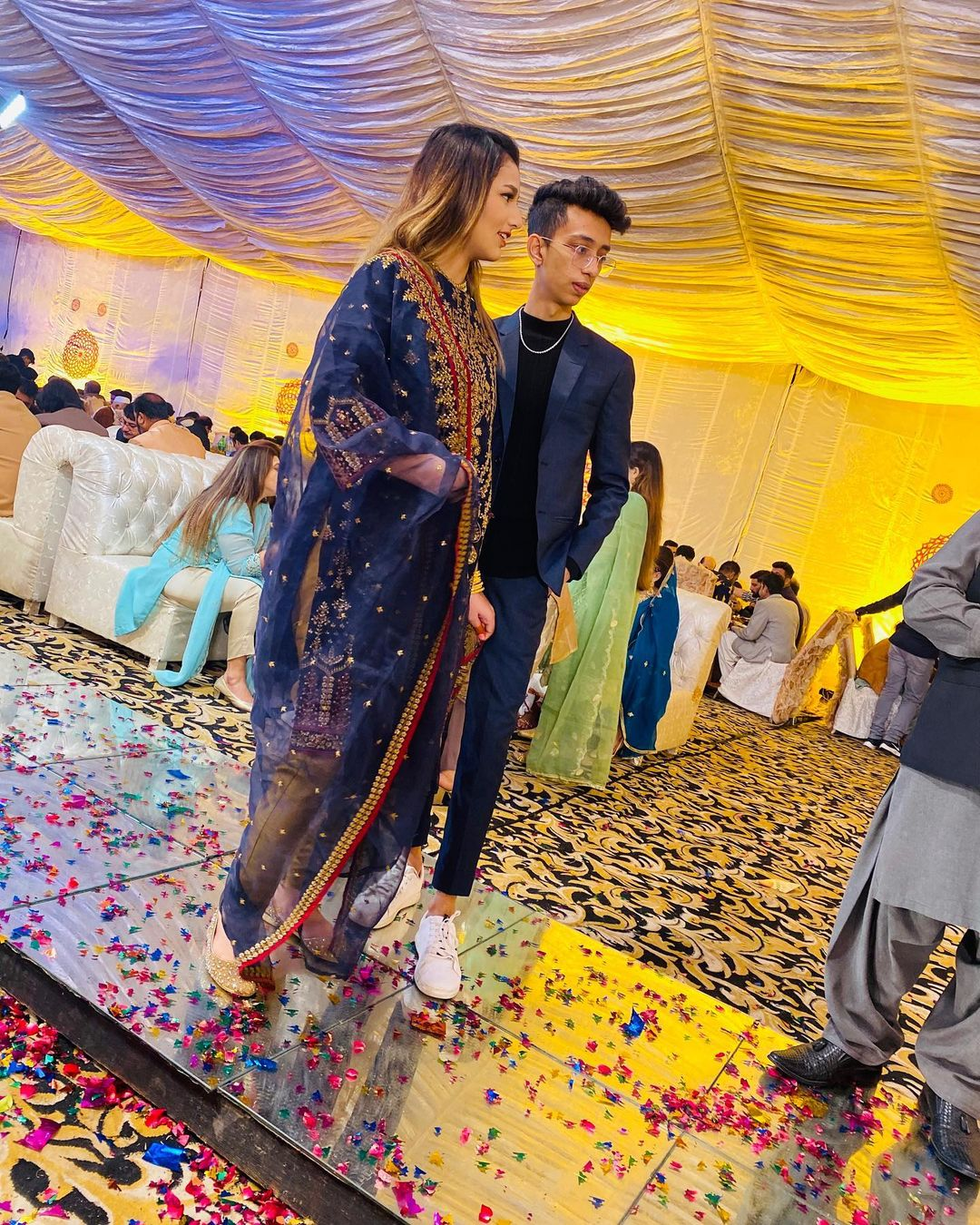 Viral Couple Asad and Nimrah Latest Pictures