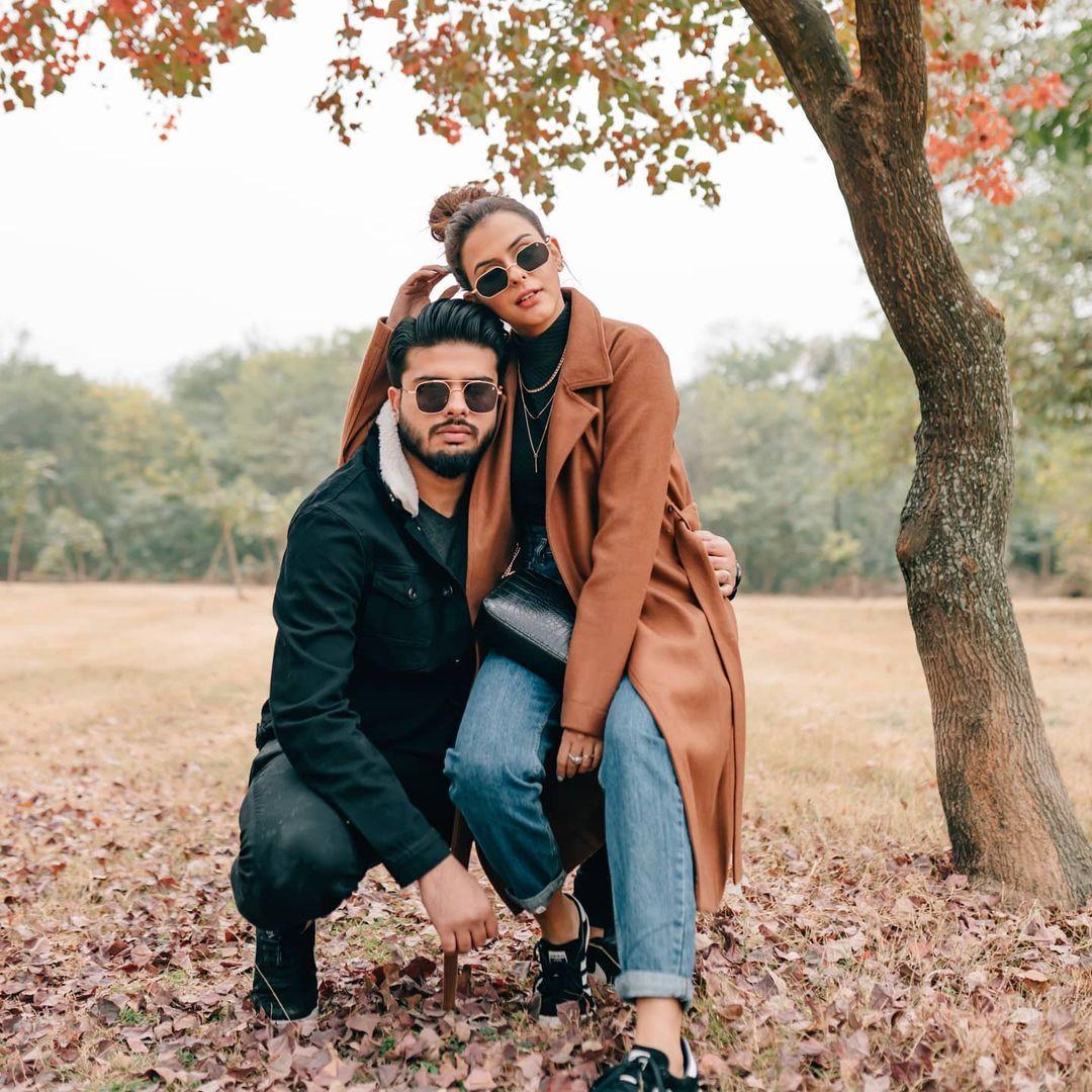 Waliya Najib With her Husband in Hunza - Beautiful Pictures