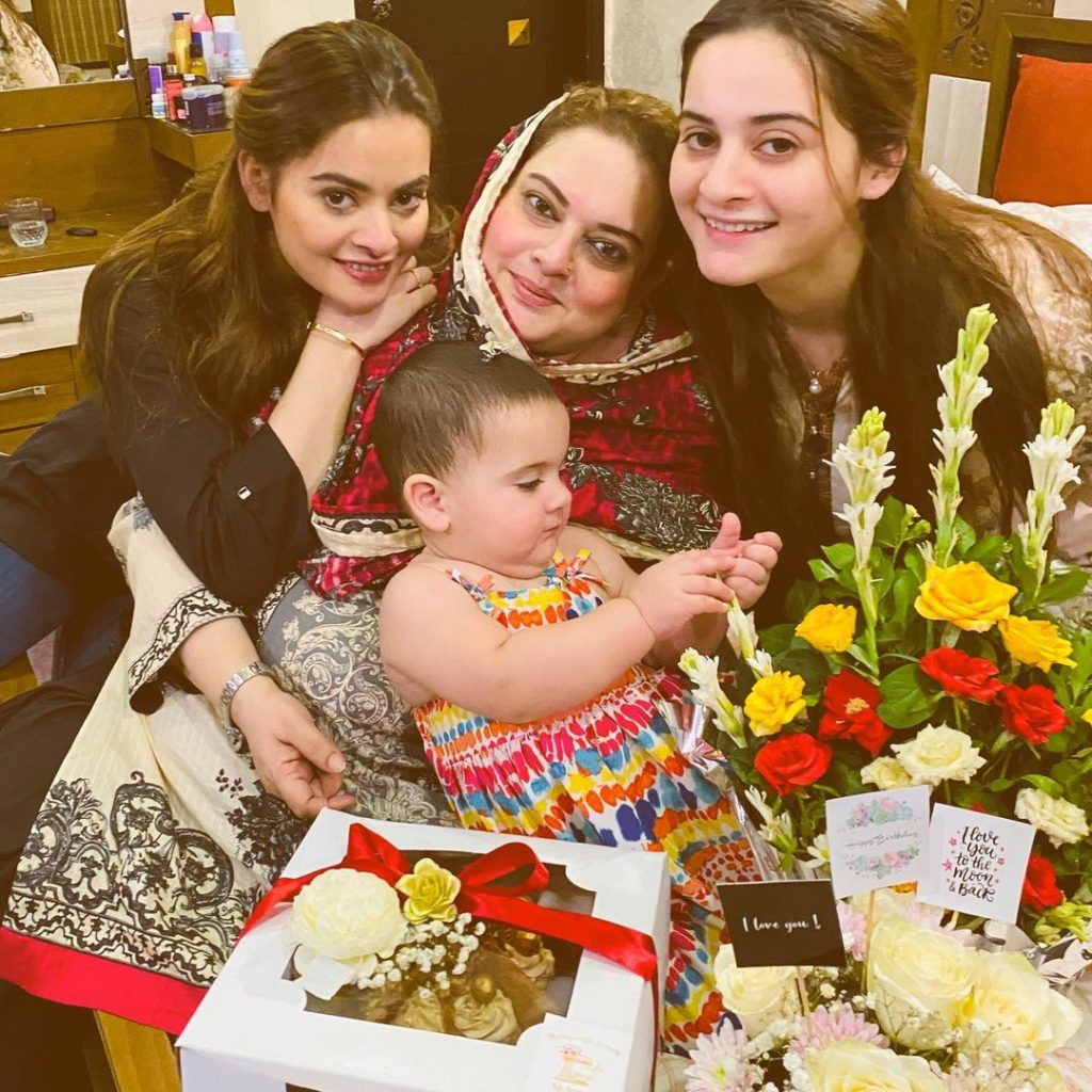 Cutest Pictures of Amal Muneeb - The Centre of all Attention