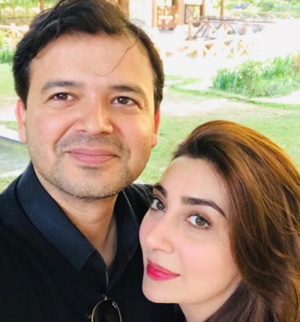 Lovely Photos of Ayesha Uqbah Khan With Her Family