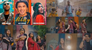 "Ali Zafar's New Sindhi Song ""Allay"" Is Out Now"