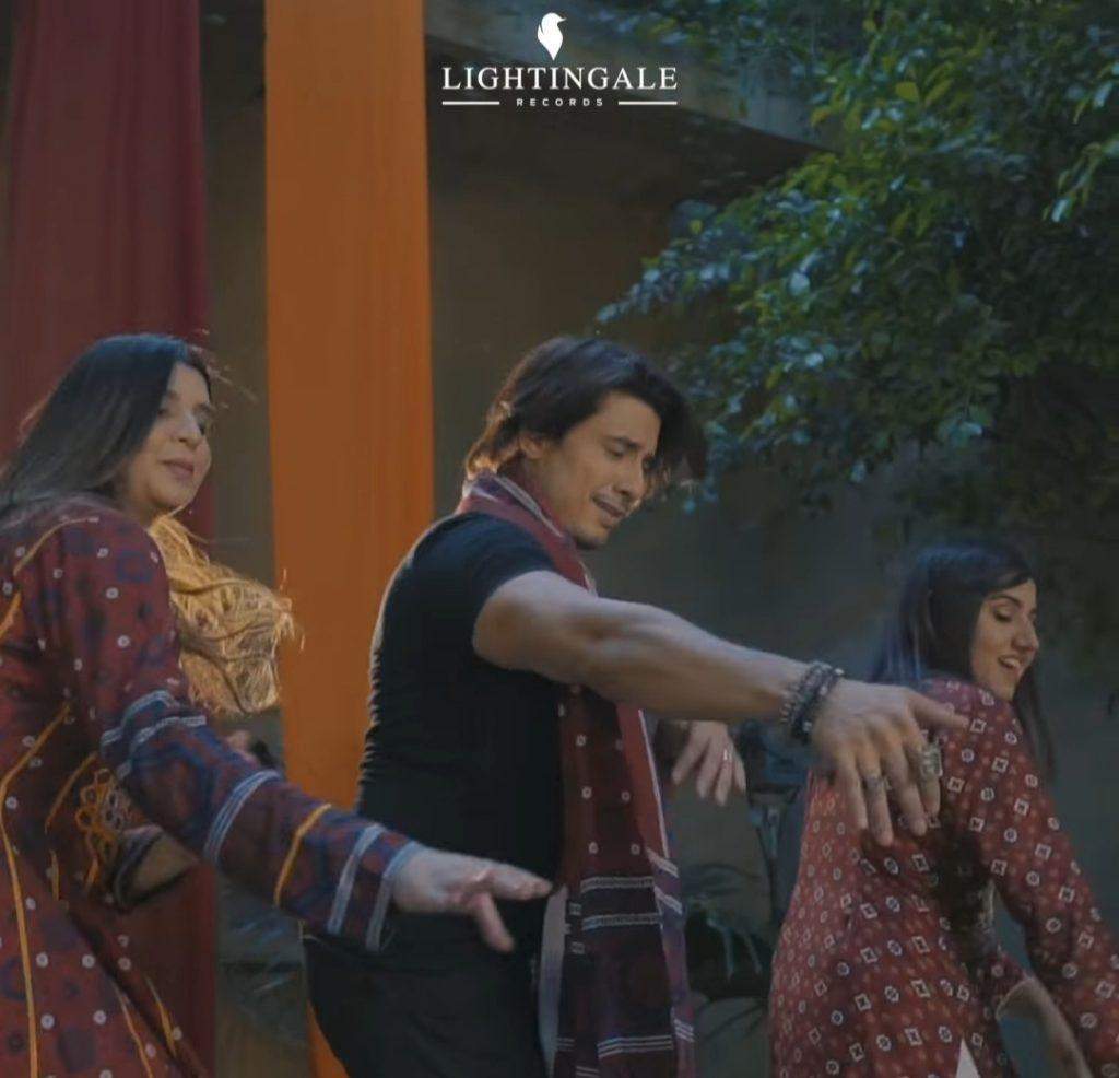 Ali Zafar New Song Teaser - Public Reaction