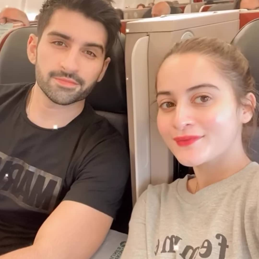 Aiman Khan Husband | 40 Romantic Pictures with Muneeb Butt