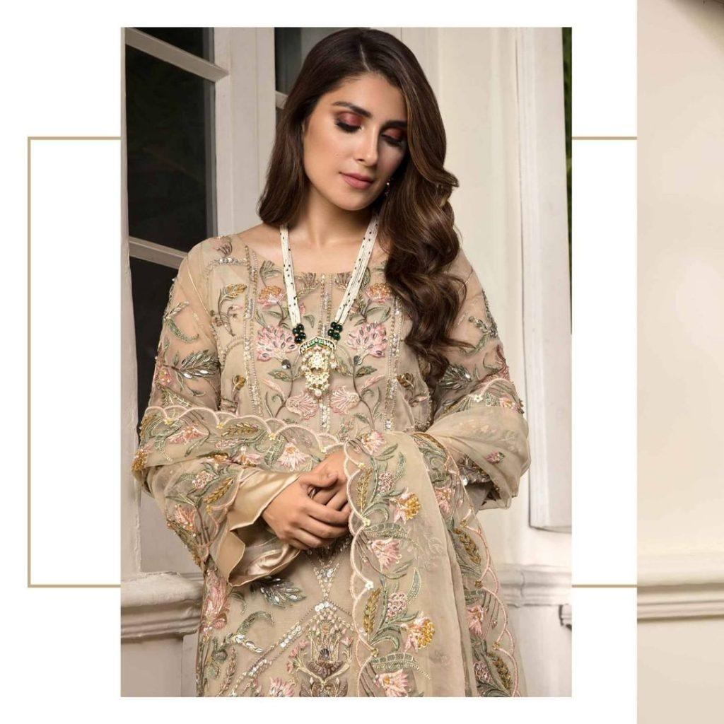 Latest Shoot Of Ayeza Khan For Elaf Premium Clothing Brand