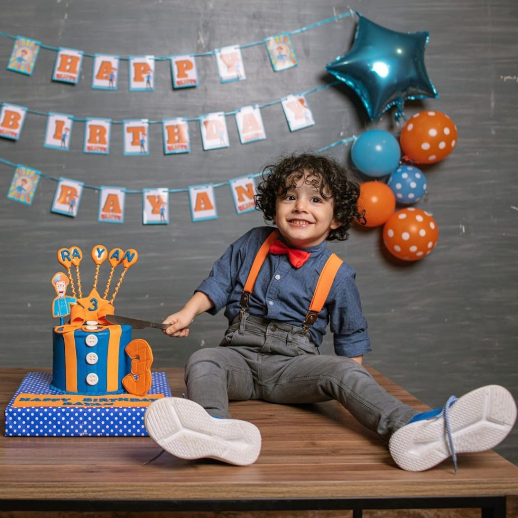 Ayeza Khan and Danish Taimoor Celebrated 3rd Birthday Of Their Son Rayan