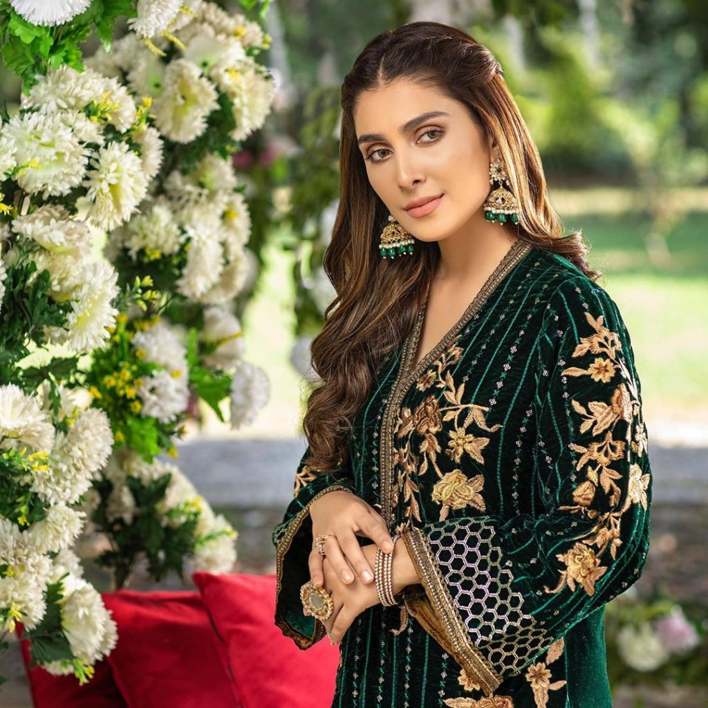 Elegant Hairstyles of Ayeza Khan That Are Just Lovely