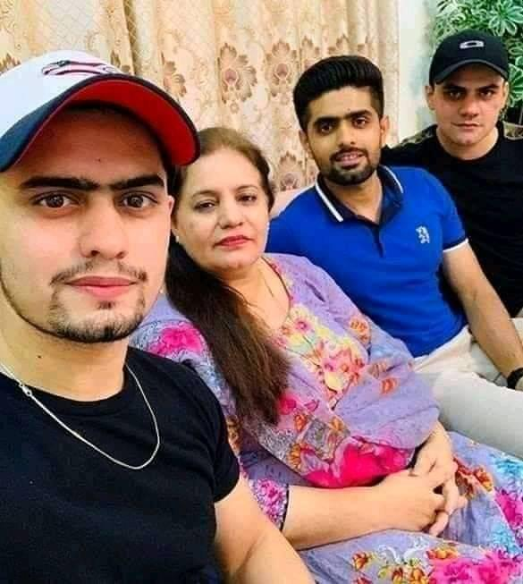 Beautiful Clicks Of Babar Azam With His Family