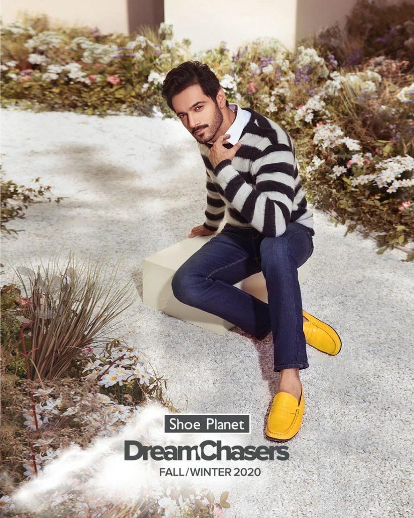 Shoe Planets Latest Winter Collection Featuring Aima Baig And Wahaj Ali