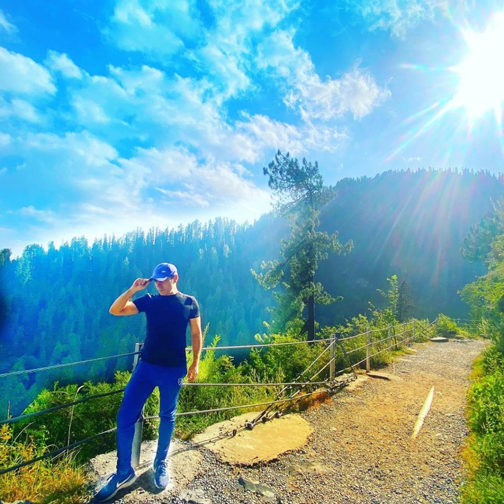 Haroon Rashid With His Wife Exploring The Beauty Of Northern Pakistan