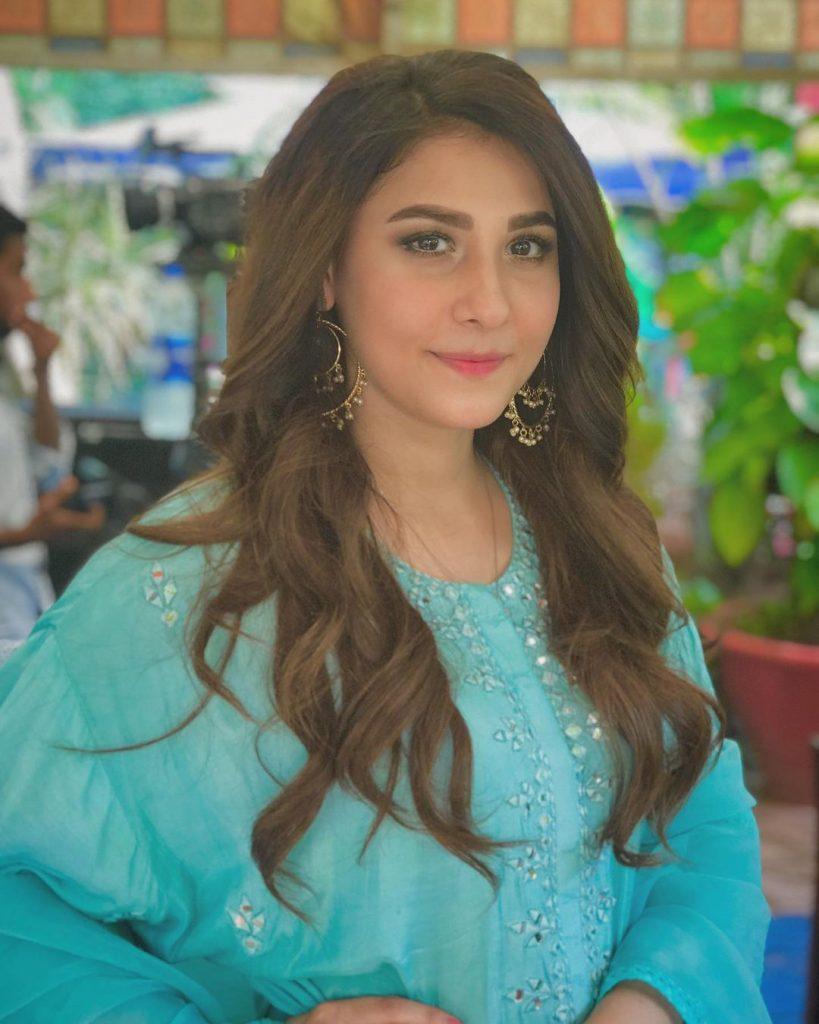 Latest Shoot Of Hina Altaf For Royli Salon