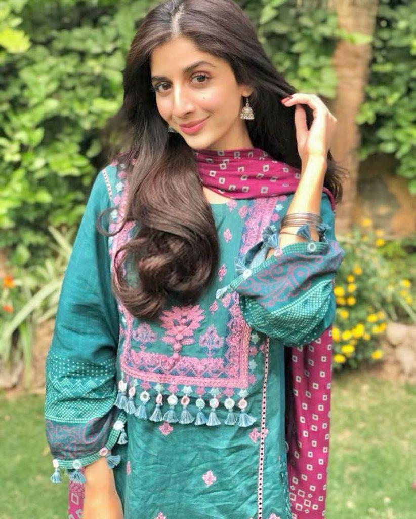 Mawra Hocane Appreciating Yumna Zaidi