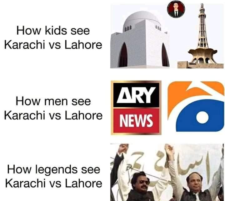 Karachi Vs Lahore PSL Final Memes