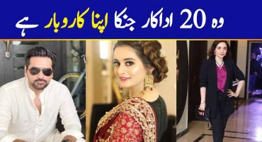 Top 20 Pakistani Actors Who Run Their Own Businesses