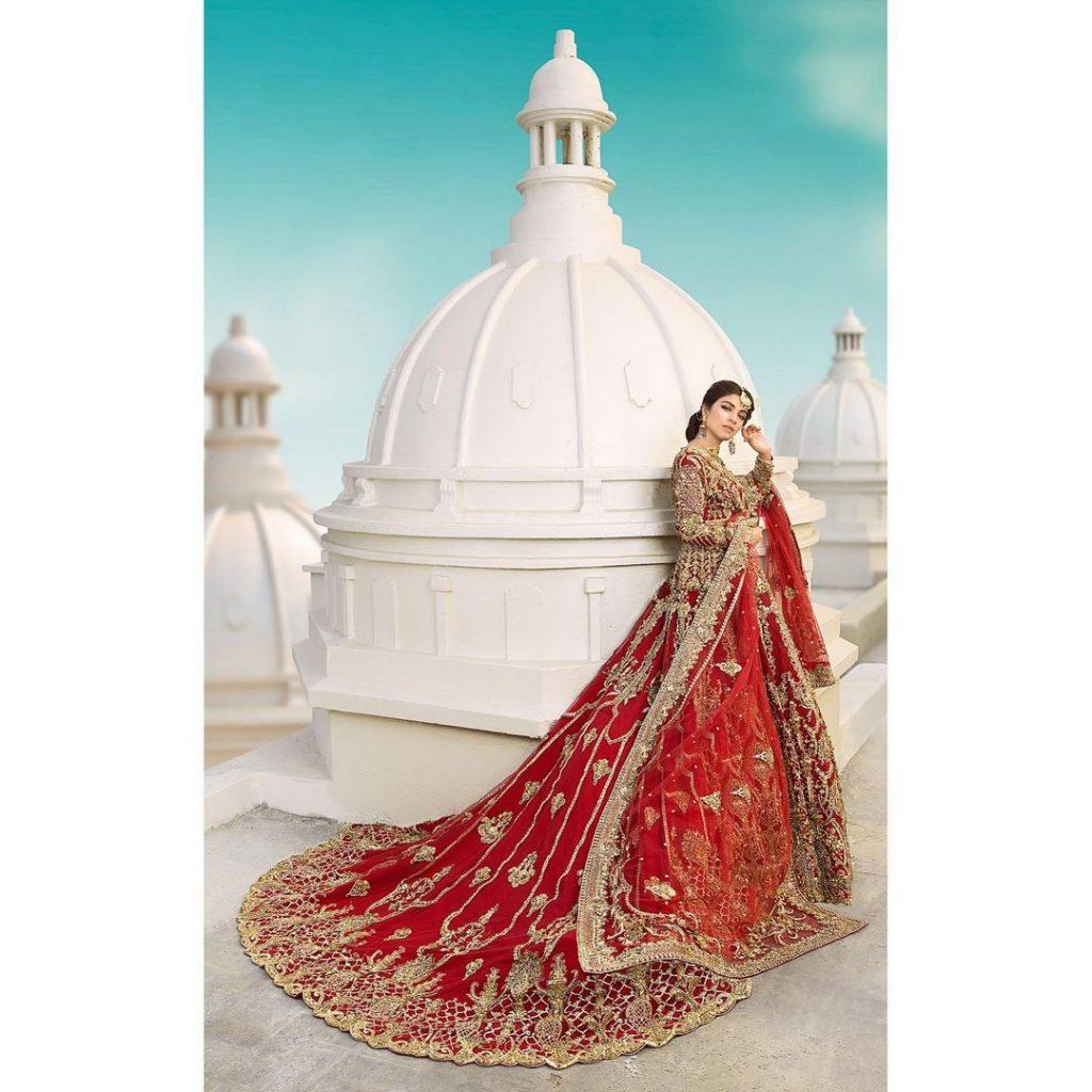 Beautiful Bridal Dresses That Are Kinza Hashmi's Favorite