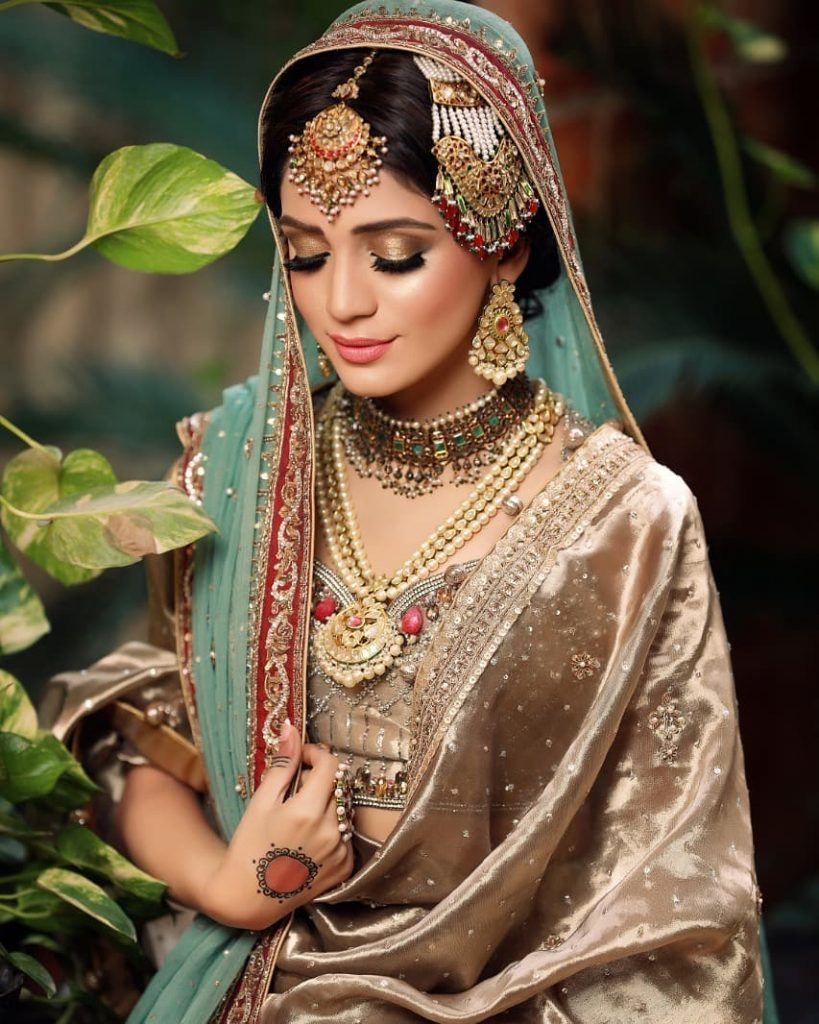 Latest Bridal Shoot Featuring Laiba Khan