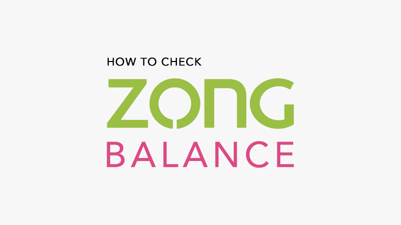 how-to-check-zong-balance