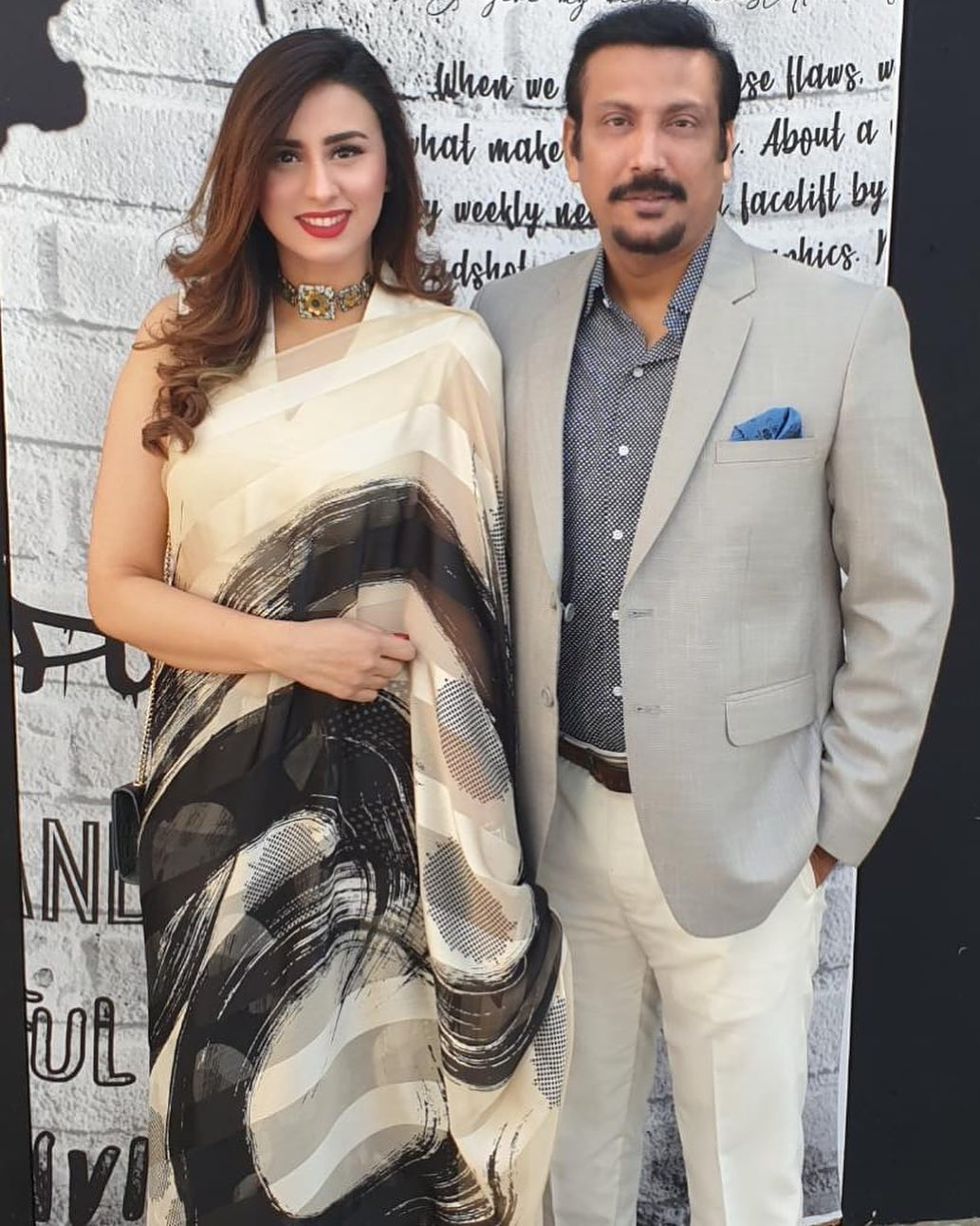Faisal Sabzwari Wife - 10 Romantic Pictures