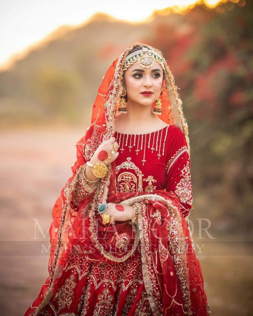Yumna Zaidi Nails The Traditional Look
